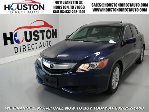 2013 Acura ILX for sale in Houston, TX