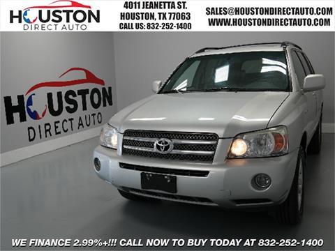 2007 Toyota Highlander Hybrid for sale in Houston, TX
