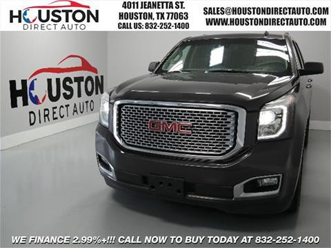 2015 GMC Yukon for sale in Houston, TX