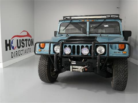 2001 HUMMER H1 for sale in Houston, TX