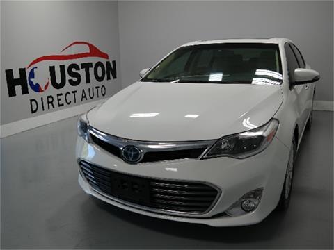 2014 Toyota Avalon Hybrid for sale in Houston, TX