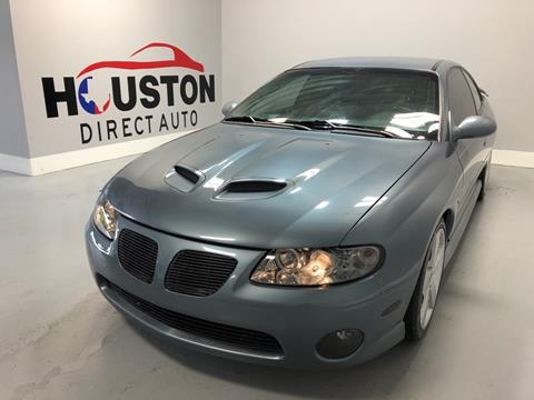 2006 Pontiac GTO for sale in Houston, TX