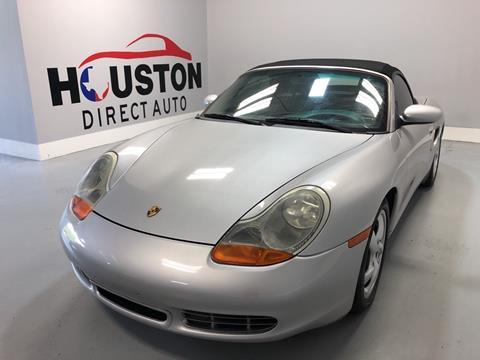 2001 Porsche Boxster for sale in Houston, TX
