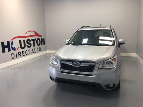 2015 Subaru Forester for sale in Houston, TX