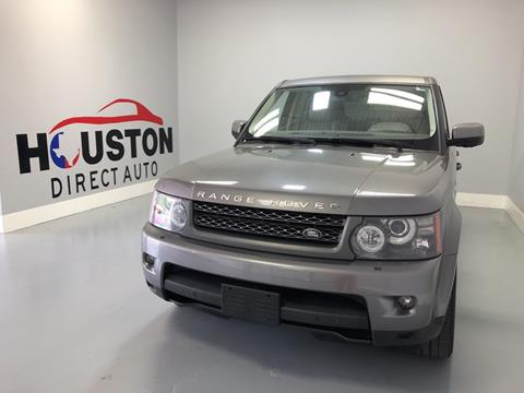 2010 Land Rover Range Rover Sport for sale in Houston, TX