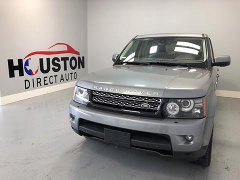 2013 Land Rover Range Rover Sport for sale in Houston, TX