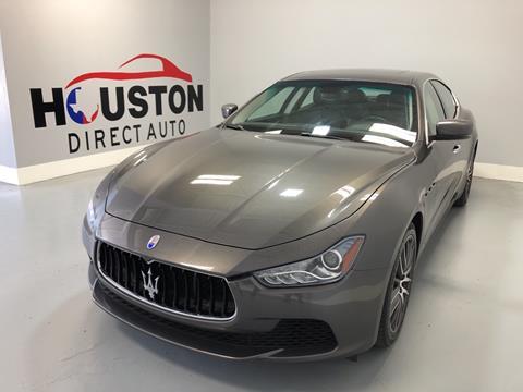 2016 Maserati Ghibli for sale in Houston, TX