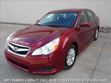 2011 Subaru Legacy for sale in Houston, TX
