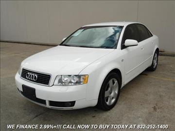 2005 Audi A4 for sale in Houston, TX