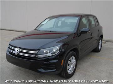 2012 Volkswagen Tiguan for sale in Houston, TX