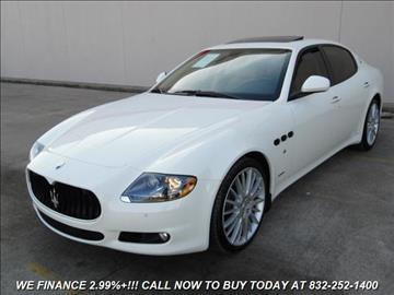 2011 Maserati Quattroporte for sale in Houston, TX