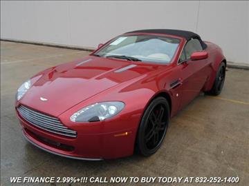 2009 Aston Martin V8 Vantage for sale in Houston, TX