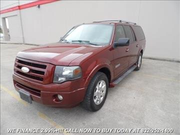 2007 Ford Expedition EL for sale in Houston, TX