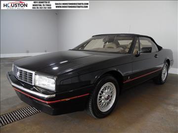 1991 Cadillac Allante for sale in Houston, TX