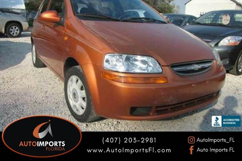 2004 Chevrolet Aveo Ls 4dr Hatchback In Orlando Fl Autoimportsfl