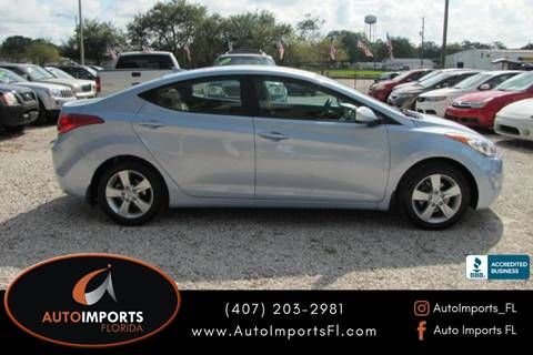 2012 Hyundai Elantra for sale in Orlando, FL