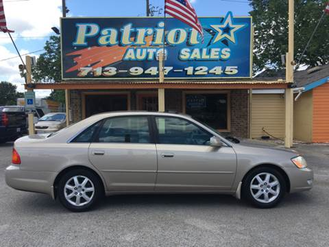 2000 Toyota Avalon for sale in South Houston, TX