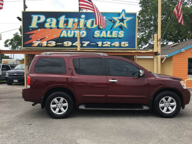 2010 Nissan Armada Se In South Houston Tx Patriot Auto Sales