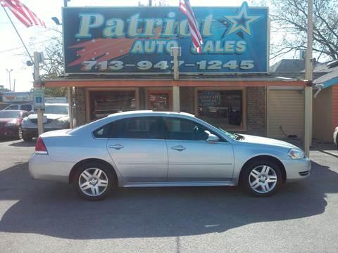 Chevrolet impala for sale in south houston tx for Mega motors houston tx
