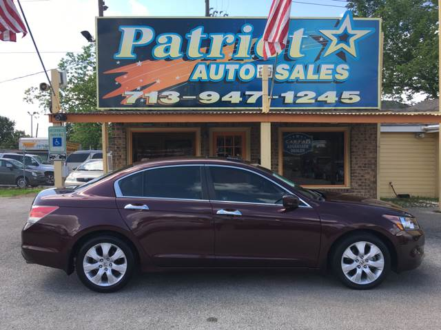 2010 Honda Accord EX L V6 4dr Sedan   South Houston TX