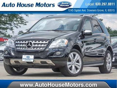 2010 Mercedes-Benz M-Class for sale at Auto House Motors in Downers Grove IL