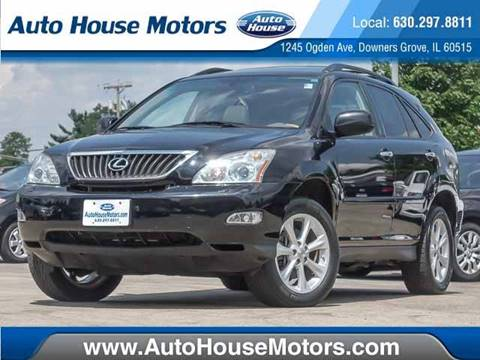 2008 Lexus RX 350 for sale at Auto House Motors in Downers Grove IL