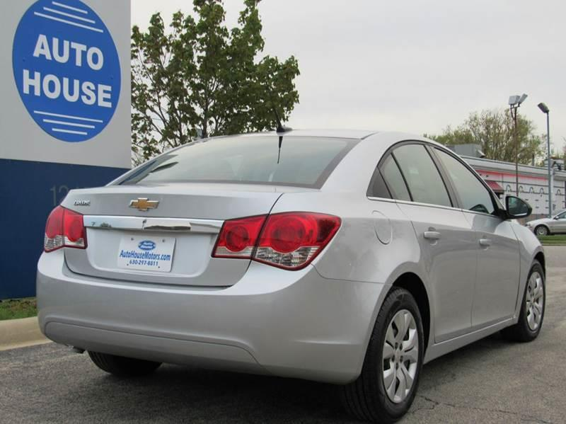 2012 Chevrolet Cruze for sale at Auto House Motors in Downers Grove IL