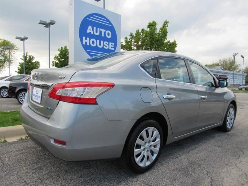 2013 Nissan Sentra for sale at Auto House Motors in Downers Grove IL