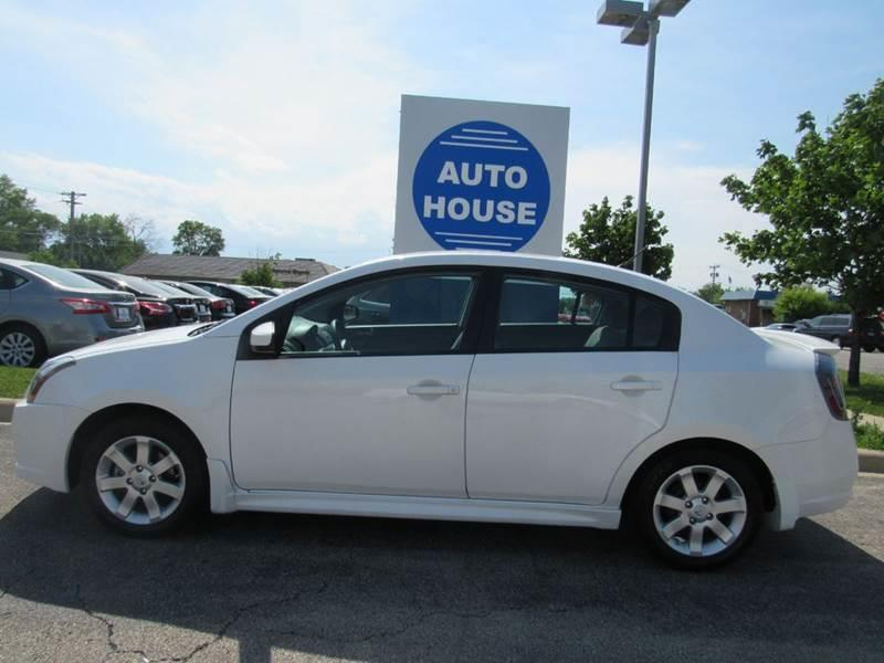 2010 Nissan Sentra for sale at Auto House Motors in Downers Grove IL