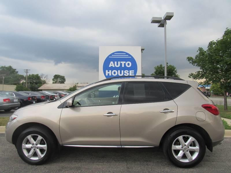 2010 Nissan Murano for sale at Auto House Motors in Downers Grove IL