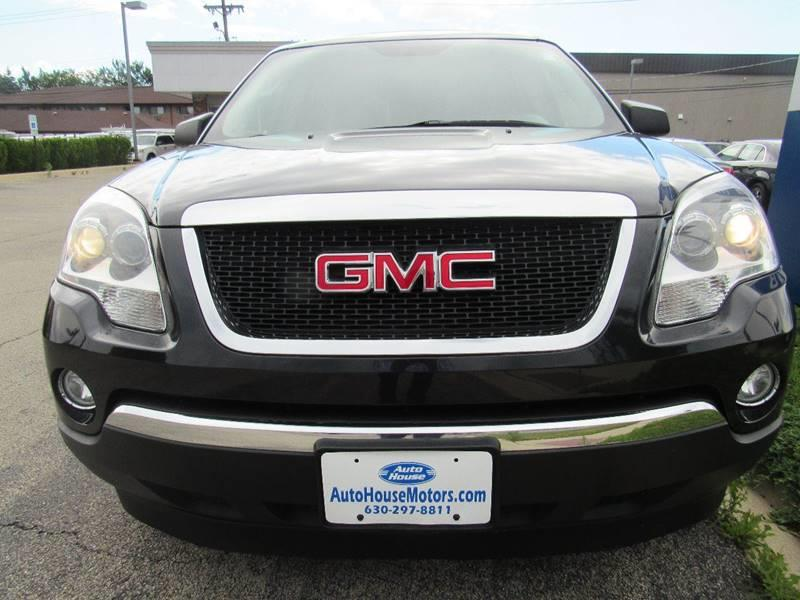 2009 GMC Acadia for sale at Auto House Motors in Downers Grove IL