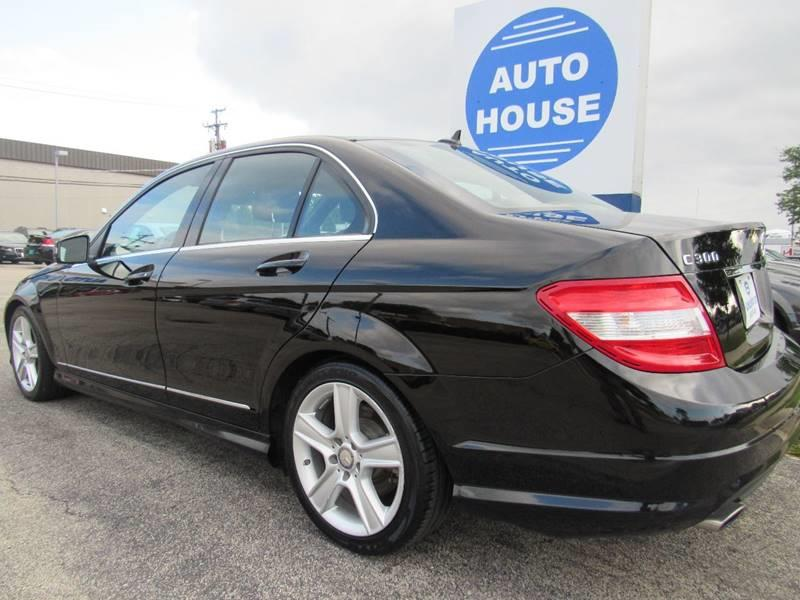2011 Mercedes-Benz C-Class for sale at Auto House Motors in Downers Grove IL