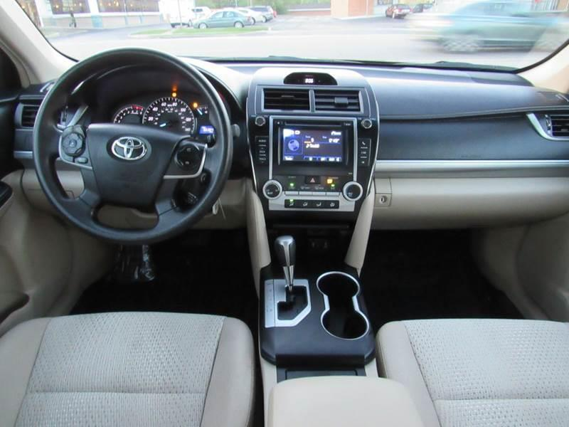 2013 Toyota Camry for sale at Auto House Motors in Downers Grove IL