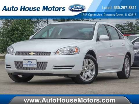 2013 Chevrolet Impala for sale at Auto House Motors in Downers Grove IL
