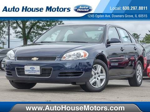 2008 Chevrolet Impala for sale at Auto House Motors in Downers Grove IL