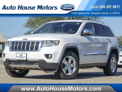 2013 Jeep Grand Cherokee for sale at Auto House Motors in Downers Grove IL