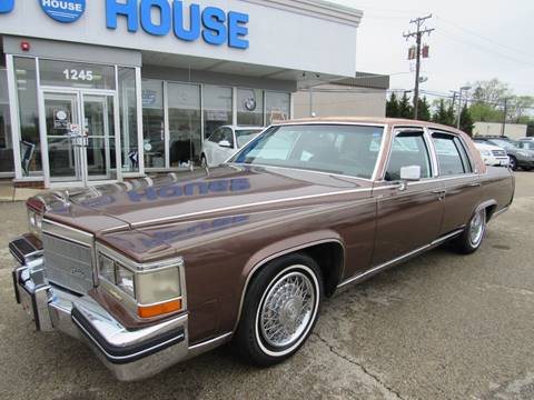 1984 Cadillac Fleetwood Brougham for sale in Downers Grove, IL