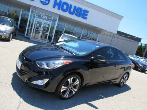 2013 Hyundai Elantra Coupe for sale at Auto House Motors in Downers Grove IL