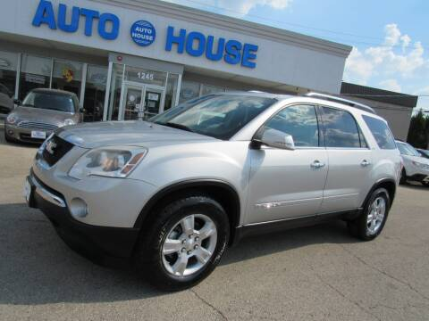 2008 GMC Acadia for sale at Auto House Motors in Downers Grove IL