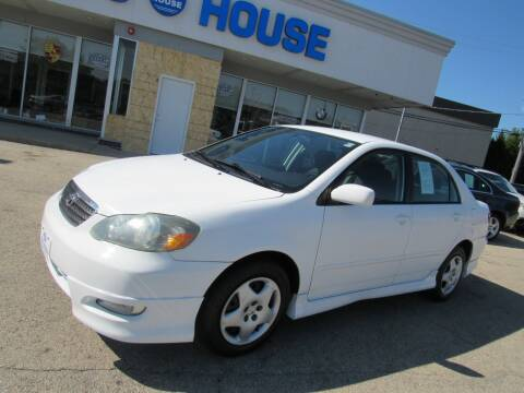 2005 Toyota Corolla for sale at Auto House Motors in Downers Grove IL