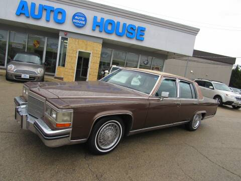 1984 Cadillac Fleetwood Brougham for sale at Auto House Motors in Downers Grove IL