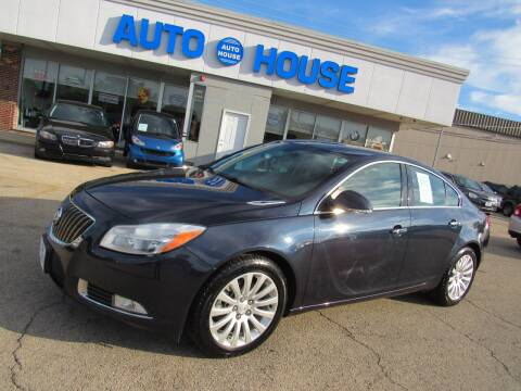 2013 Buick Regal for sale at Auto House Motors in Downers Grove IL