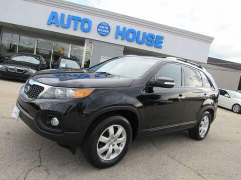 2012 Kia Sorento for sale at Auto House Motors in Downers Grove IL