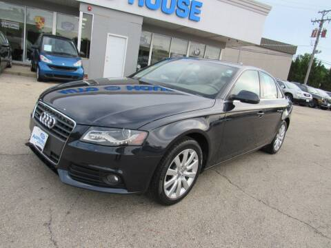2012 Audi A4 for sale at Auto House Motors in Downers Grove IL