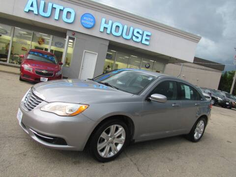 2013 Chrysler 200 for sale at Auto House Motors in Downers Grove IL