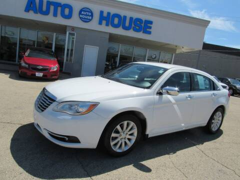 2014 Chrysler 200 for sale at Auto House Motors in Downers Grove IL