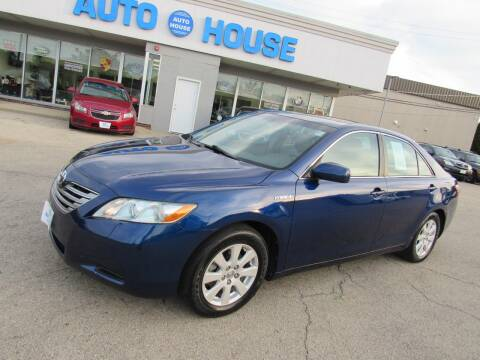 2009 Toyota Camry Hybrid for sale at Auto House Motors in Downers Grove IL