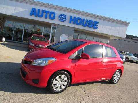2012 Toyota Yaris for sale at Auto House Motors in Downers Grove IL