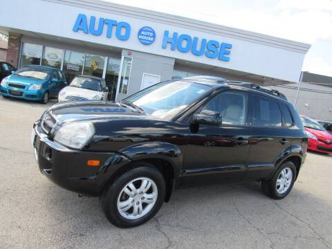 2007 Hyundai Tucson for sale at Auto House Motors in Downers Grove IL