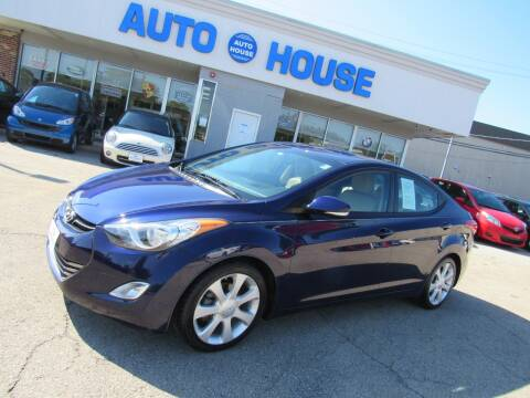 2013 Hyundai Elantra for sale at Auto House Motors in Downers Grove IL